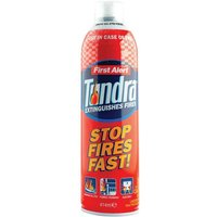 First Alert Tundra Fire Extinguisher Extinguishing Spray NON-Toxic Biodegradable