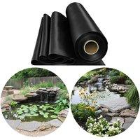 Livingandhome - Fish Pond Liner Garden Landscaping Pool Membrane Anti-Seepage Waterproof Liner,3.5x3.5m