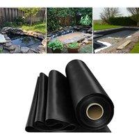 Fish Pond Liner Garden Landscaping Pool Membrane Anti-Seepage Waterproof Liner,4x3.5m
