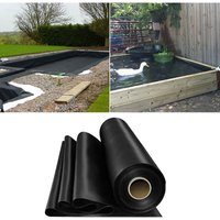 Livingandhome - Fish Pond Liner Garden Landscaping Pool Membrane Anti-Seepage Waterproof Liner,6x7m