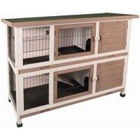Rabbit Hutch Combi 122x50x102 cm 210052 - Flamingo