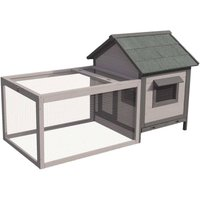 Rabbit Hutch Grace Cottage - Grey - Flamingo