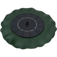 Floating fountain lotus leaf petal solar fountain 6V/1W, equipped with 9 nozzles