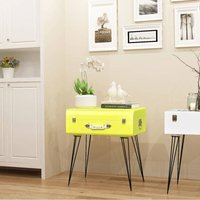 Florissant 1 Drawer Bedside Table by Williston Forge - Yellow