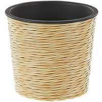 Flower Pot ⌀ 20 cm Sand Beige ATENY - BELIANI
