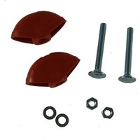 Roller Compact 3400 (9643406-01) Handle Fixing Kit - Flymo