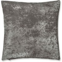 Foil Silver Cushion Cover 43 x 43cm Sofa Bed Accessory Filled Cushions
