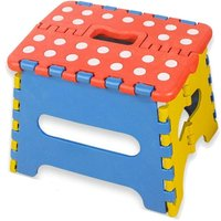 Foldable and Portable Step, Small Folding Step, Non-slip Step, Folding Stool for Children and Adults, Holds up to 220 lbs, for Kitchen, Bathroom,