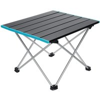 Maerex - Folding Table Camping Barbecue Night Market Table M 22.5x15.7x15.7 inch