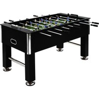 Football Table Steel 60 kg 140x74.5x87.5 cm Black - YOUTHUP