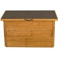 Forest Wooden Garden Storage Chest- Outdoor Patio Storage Box