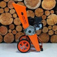 Forest Master Compact Garden Shredder Wood Chipper Mulcher FM6DD-MUL