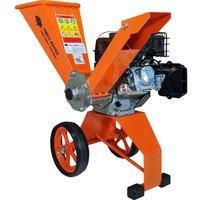 FM6DD Compact 6HP Petrol Wood Chipper Garden Shredder - Forest Master