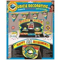 Forum Novelties Retirement Decor Kit (Pack of 12) (One Size) (Multicoloured)
