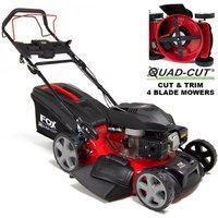 Quad-Cut 530 21 Recoil Self Propelled Petrol Lawn Mower - FOX