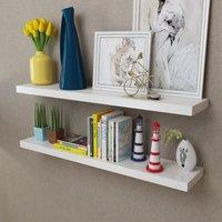 Fredrickson Floating Shelf by White - Ivy Bronx