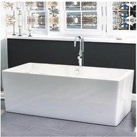 Freestanding Modern Double Ended Bath 1705mm - Harper By Voda Design - SYNERGY