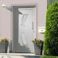 Front Door White 108x200 cm - White - Vidaxl