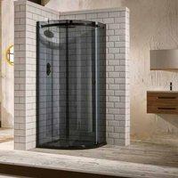 Frontline Aquaglass Sphere 1000 X 800 Offset Quadrant Shower Enclosure