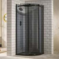 Frontline Aquaglass Sphere 1200 X 800 Offset Quadrant Shower Enclosure
