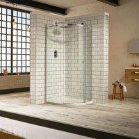 Frontline Aquaglass Sphere 1200 X 900 Offset Quadrant Shower Enclosure - FRONTLINE BATHROOMS