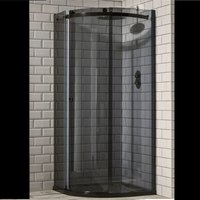 Frontline Aquaglass Sphere 1200 X 900 Offset Quadrant Shower Enclosure