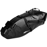 Full Waterproof Bicycle Saddle Bag Road Mountain Bike Cycling Rear Rack Bag Luggage Pannier Bike Accessories,model:Black