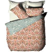 Furn Lorelei Floral Duvet Cover Set (King) (Blush)
