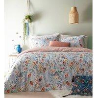 Mini Nature Duvet and Pillowcase Set (Double) (Multicoloured) - Furn