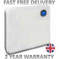 Futura 1000W Electric Panel Heater Intelligent 24 Hour 7 Day Timer Bathroom Safe
