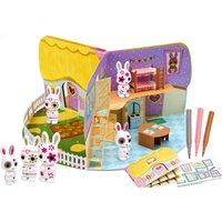 Pop-up 3D Playhouse - Fuzzikins