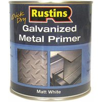 GALP250 Quick Dry Galvanized Metal Primer 250ml - Rustins