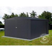 Garage métallique 3,8x4,8x2,32m ProShed®, Anthracite