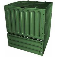 Composteur Eco King vert 400 L