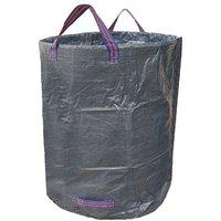 Thsinde - Garden Bag for Green Waste 272L - Garbage Bags for Dead Leaf Plant Waste Gardening - Reusable Resealable Bag