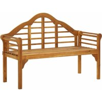 Garden Bench 135 cm Solid Acacia Wood - YOUTHUP