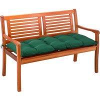 Detex - Garden Bench Cushion 110 cm Visco Elastic Effect Indoor Outdoor Pads Green