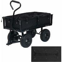 Betterlifegb - Garden Cart Liner Black 86x46x22 cm Fabric39201-Serial number