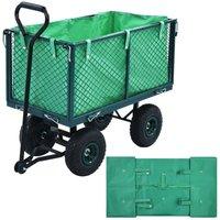 Asupermall - Garden Cart Liner Green Fabric