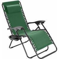 Tectake - Garden chair Matteo - green