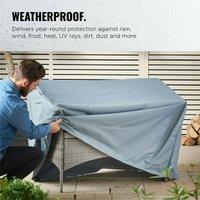 garden furniture bench seat storage bag 2 Waterproof Outdoor seating - Mohoo