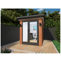 Cedar Garden Retreats Ltd - CEDAR GARDEN / HOME OFFICE / POD / GYM / SUMMER HOUSE 2 X 3m2 DELIVERED and ASSEMBLY .