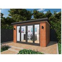 Cedar Garden Retreats Ltd - CEDAR GARDEN / HOME OFFICE / POD / GYM / SUMMER HOUSE 4 X 3 Meters DELIVERED.