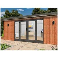 Cedar Garden Retreats Ltd - CEDAR GARDEN / HOME OFFICE / POD / GYM / SUMMER HOUSE 5 X 4 Meters DELIVERED.