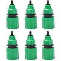 Zqyrlar - garden hose hose one way adapter tap fitting fitting for irrigation Set of 6