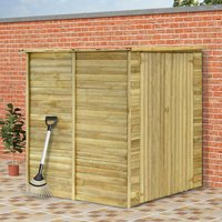 Garden House Shed 157x159x178 cm Impregnated Pinewood - YOUTHUP