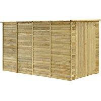 Garden House Shed 315x159x178 cm Impregnated Pinewood - VIDAXL