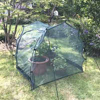 Pro Gro Net Grow Tunnel Cloche and Plant Cover – 1m long x 1m wide x 1m high
