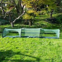 Pro Gro Net Grow Tunnel Cloche and Plant Cover ? 3m long x 0.75m wide x 0.5m high
