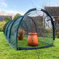 Pro Gro Net Grow Tunnel Cloche and Plant Cover – 5m long x 1.5m wide x 1.5m high